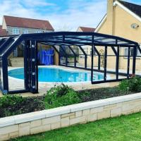 cerramiento de aluminio piscina