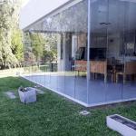 cortina cristal porche barata